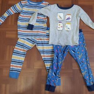 Boys 4t (4 piece pajama set)